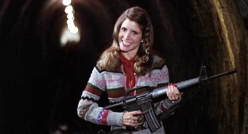 Carrie Fisher in <i>The Blues Brothers</i>