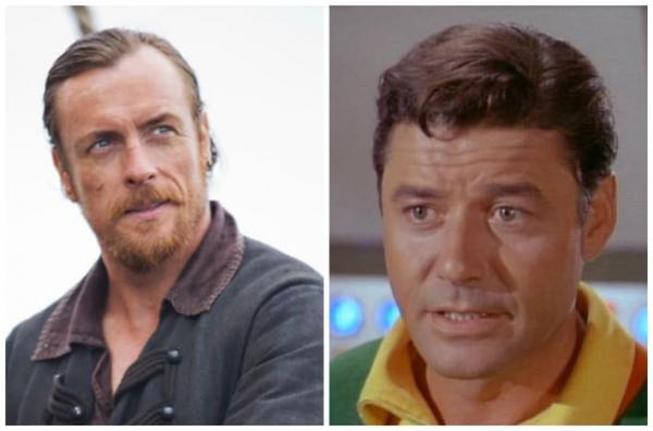 Toby Stephens e Guy Williams, il nuovo e l'originale John Robinson.
