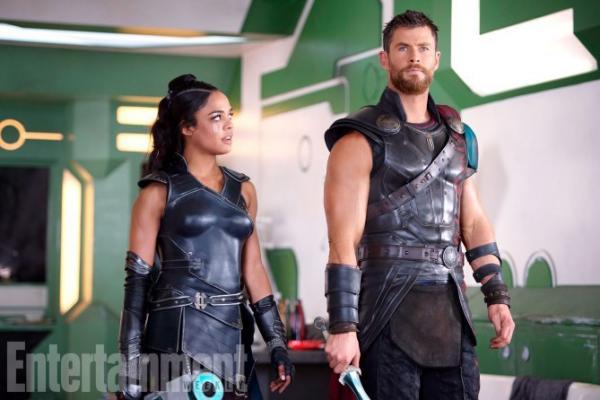 Thor e Valkirie (Tessa Thompson)