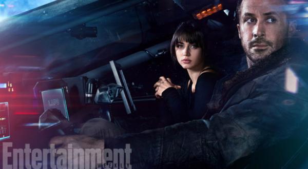 Ryan Gosling e Ana De Armas, la replicante con cui avrà una relazione tormentata.