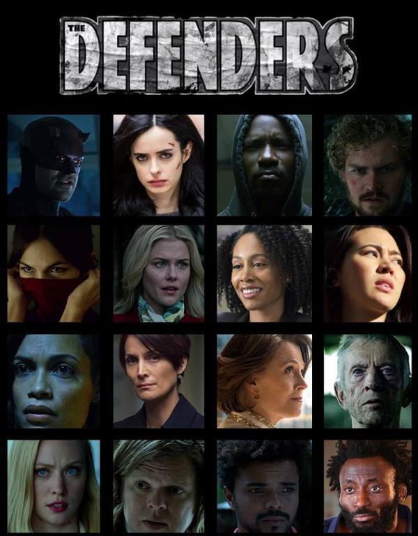 Tutti i personaggi di ritorno in The Defenders