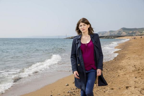 Jodie Whittaker in Broadchurch