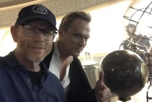 Si, anche Vision, ovvero Paul Bettany è diventato parte delle nuove riprese di Ron Howard.