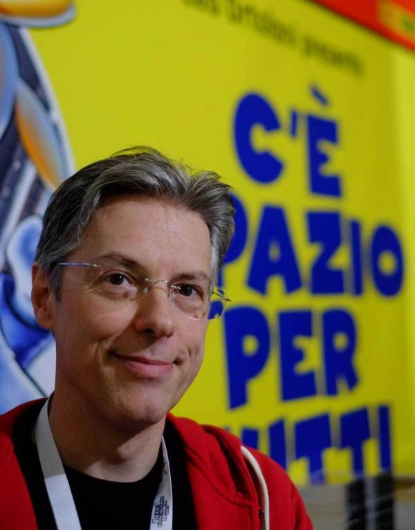 Leo Ortolani. Foto: Furio Detti