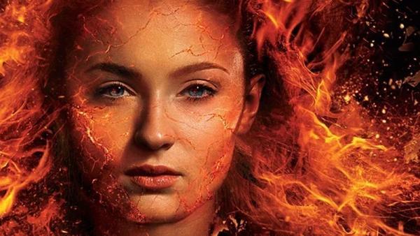 Jean Grey (Sophie Turner) in versione Dark Phoenix