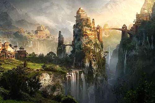 Shangri-La, illustrazione di Anna Garg