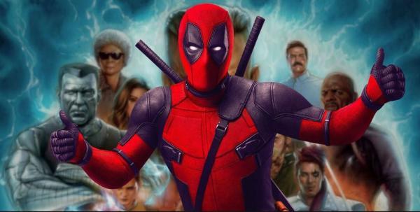 Tra i protagonisti troviamo Deadpool, Deadpool e...Deadpool.