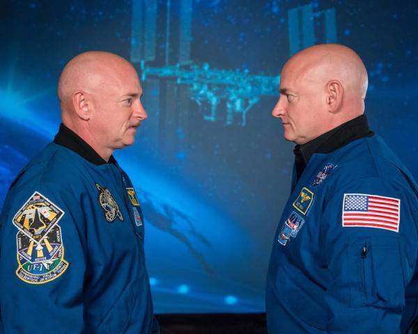 Scott e Mark Kelly