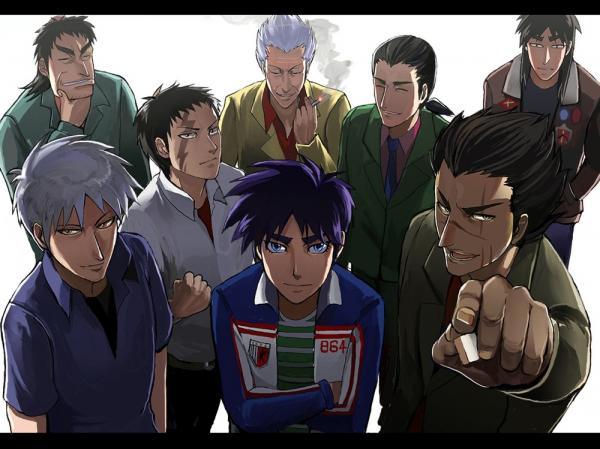 Una immagine dall'anime tratto dal manga.
