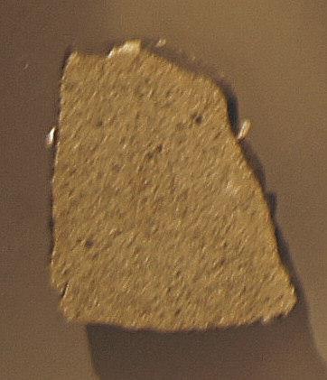 Il frammento McKinney, oggi al museo Smithsonian di Washington