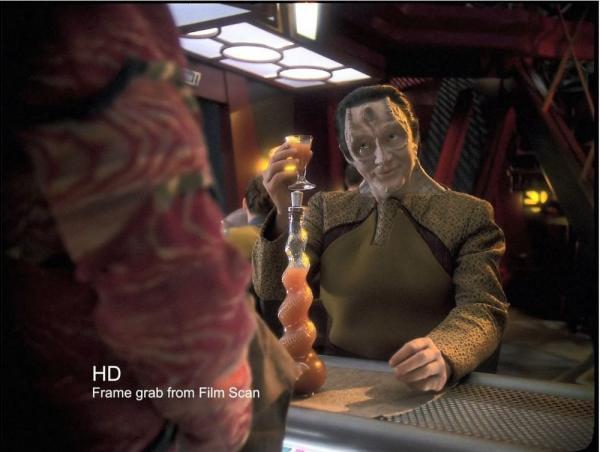 Una immagine da una delle clip rimasterizzate in HD