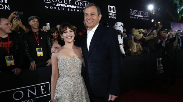 Iger durante la presentazione di Rogue One: A Star Wars Story