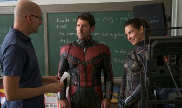 Sul set di Ant-man and the Wasp
