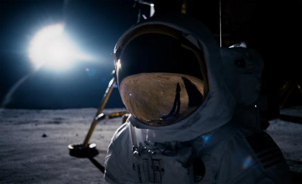 Una scena lunare da First Man