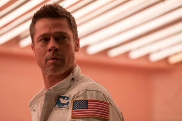 Brad Pitt in una scena