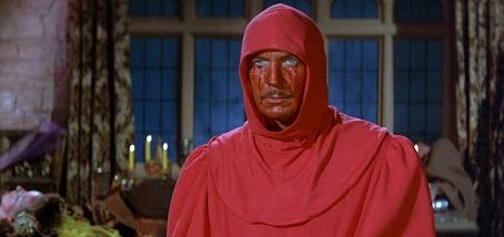 Vincent Price nel film di Roger Corman <i>La maschera della morte rossa</i>