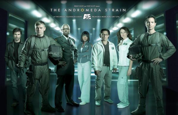 Il cast della serie <i>The Andromeda Strain</i>