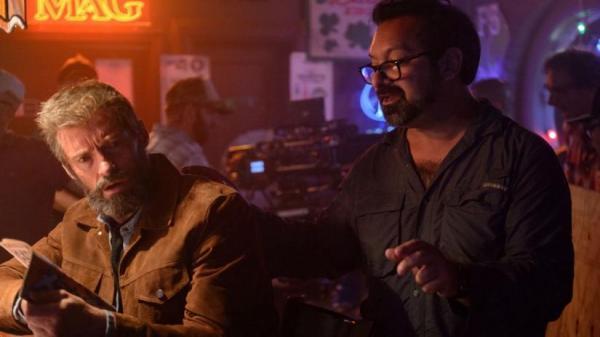 James Mangold sul set di Logan.