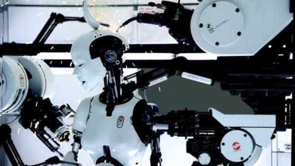 Un'immagine dal video di Bjork All is Love.