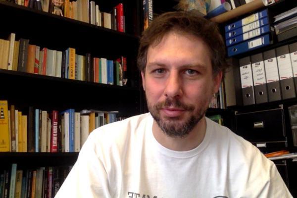 Lo scrittore e giornalista Alberto Grandi