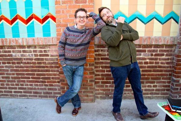 Kevin e Dan Hageman.