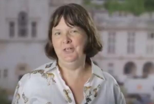 Jane Graves, astrobiologa dell'Università di Cardiff, la capo progetto.