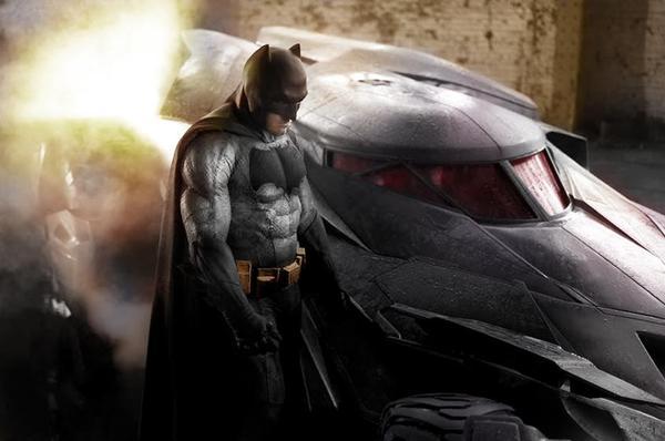E' questo il look del nuovo Batman?