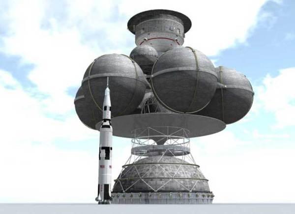 Daedalus a confronto con un Saturno 5