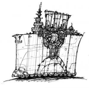 Illustrazione di Franco Brambilla per Mondo9.
