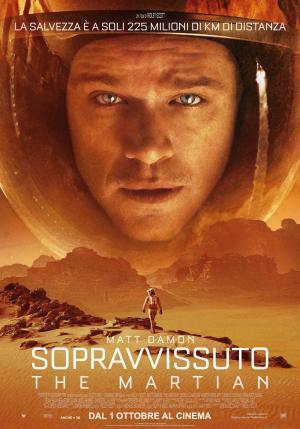 Il poster di Sopravvissuto – The Martian