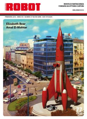 La copertina del numero 77 (illustrazione di Franco Brambilla) che includerà il vincitore del Premio Robot