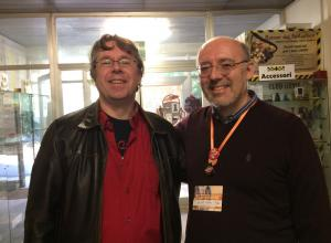 Alastair Reynolds e Silvio Sosio