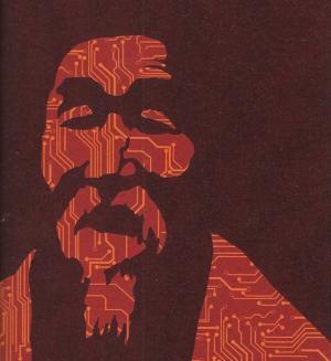 """Illustrazione per il racconto """"Buddhagram"""" realizzata da Eleonora Mamerti (dettaglio), in <i>Nebula.</i>"""