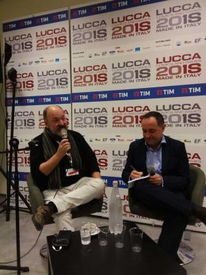 Dave McKean a Lucca