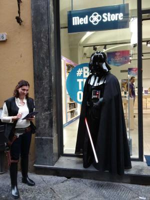 Darth Vader a Lucca