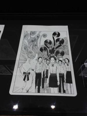 Tavola di Junji Itō