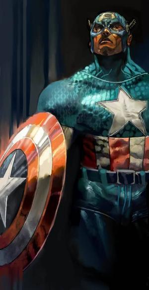 Captain America di Simone Bianchi