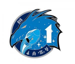 La patch della missione Crew-1