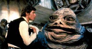Han Solo e Jabba, una scena dell'Edizione Speciale
