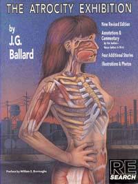 La copertina della famosa edizione illustrata della Mostra delle Atrocità edita da RE/Search di Phoebe Gloeckner
