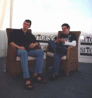 Jamie Bell e Michael Bassett