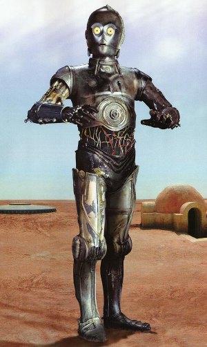 Il C3PO di <i>Star Wars</i> è del tutto inerme e pacifico
