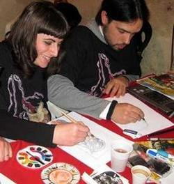 A sinistra Barbara Ciardo e a destra Marco Castiello