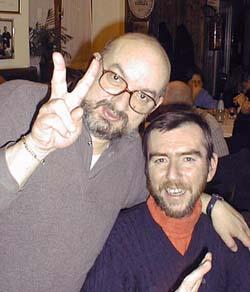 Curtoni con Valerio Evangelisti (1999)