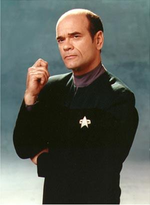 Robert Picaro è il Dottore Olografico di Voyager