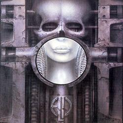La copertina dell'abum Tarkus degli Emerson, Lake e Palmer