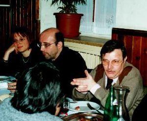 Elisabetta Vernier, Silvio Sosio e Lanfranco Fabriani