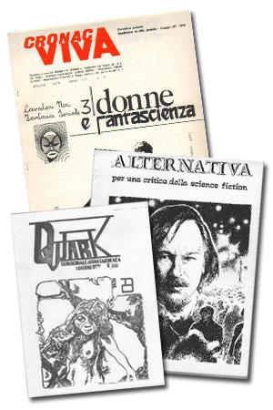 Alcune fanzine degli anni Settanta