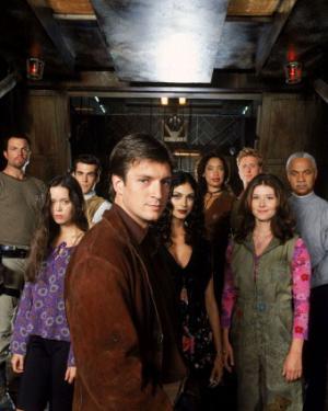 Il cast della serie televisiva: hanno partecipato tutti anche al film
