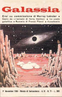 Il numero di Galassia sul quale uscì il racconto per la prima volta.